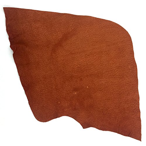 (SLC's Imported Pig Leathers By The Square Foot (Suede, Rust))