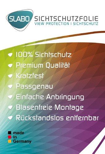 Slabo pellicola protettiva per display iPhone 6 Plus / 6S Plus (5.5) View Protection|Protezione Dagli Sguardi Indiscreti privacy MADE IN GERMANY - NERO