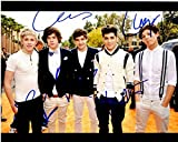 Harry Styles, Niall Horan, Louis Tomlinson, Liam Payne and Zayn Malik Signed - Autographed One Direction 8x10 inch Photo - Guaranteed to pass or JSA - PSA/DNA Certified