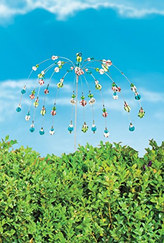The Paragon Yard Decoration Stake - Wind Dancer Beaded Stake, Outdoor Garden Decor by The Paragon (Image #4)