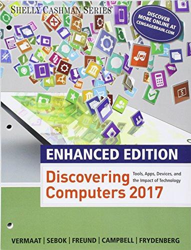 Bundle: Enhanced Discovering Computers ©2017, Loose-leaf Version + MindTap Computing, 1 term (6 months) Printed Access Card