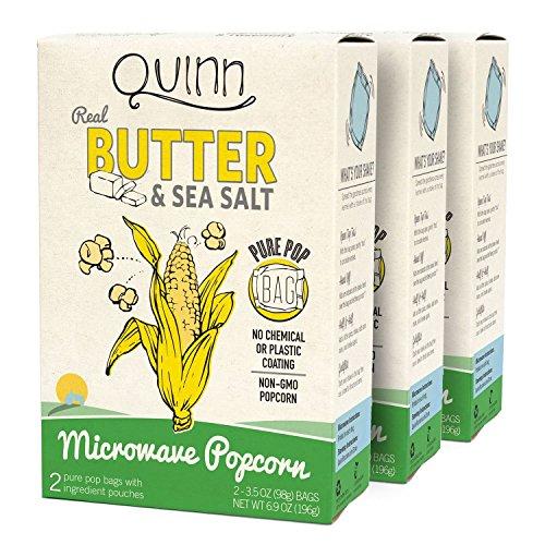 Quinn Snacks Microwave Popcorn Organic product image