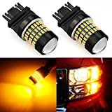 XT AUTO 2X Super Bright 3014 78-EX Chipsets 3056 3156 3057 3157 LED Bulbs Used Back up Reverse Brake Tail Lights Amber