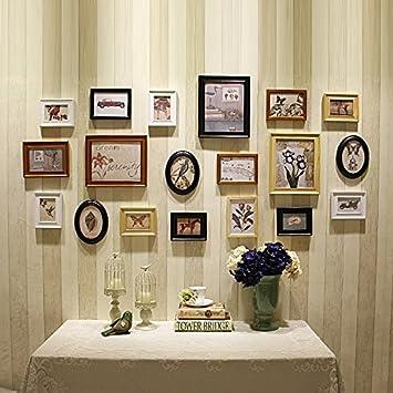 HJKY Photo Frame Wall Set Im modernen amerikanischen Stil mit ...