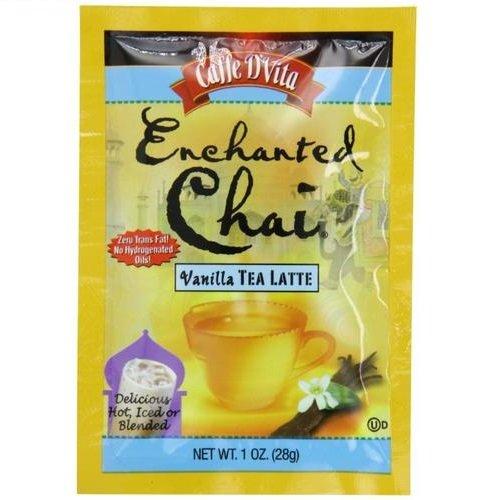 - Caffe D'Vita Enchanted Chai Vanilla Tea Latte, 1-Ounce Envelopes (Pack of 12)