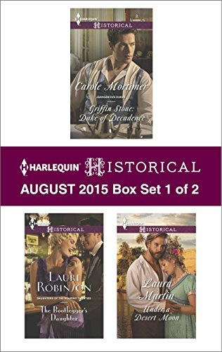 Harlequin Historical August 2015 - Box Set 1 of 2: