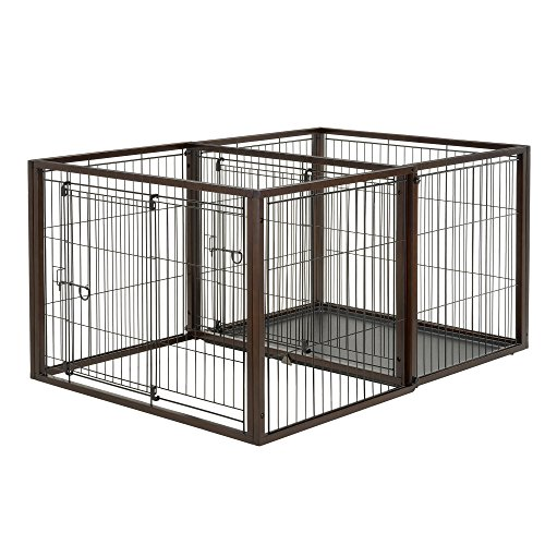 Playpen Pet Richell (Richell 94925 Pet Crates & Pens)