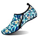 Barerun Outdoor Summer Beach Swim Surf Water Shoes for Women Men Green Women Size 7.5-8.5 Men Size 6-7