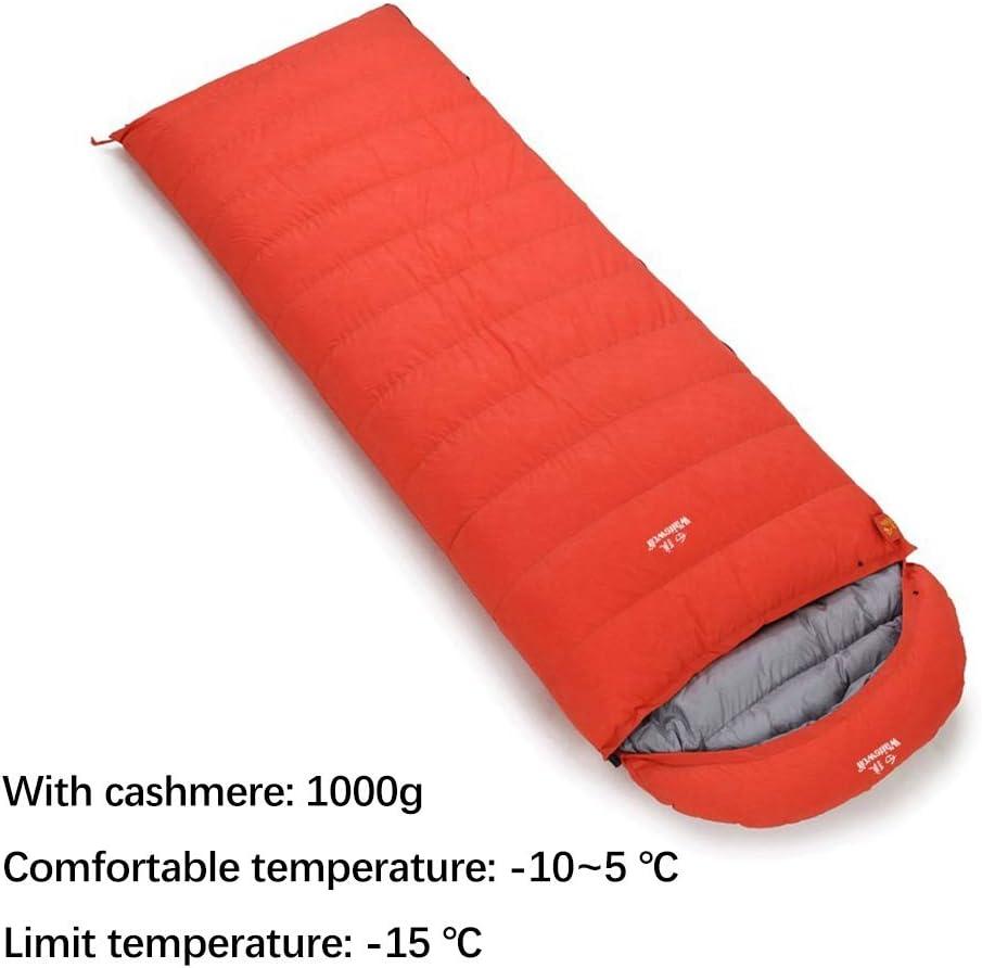 Sac de couchage pour adultes Camping sacs de couchage gris et jaune SY-FR