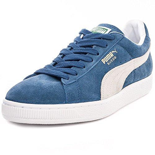Puma Suede Classic +, Scarpe Da Ginnastica Unisex-adulto Blu