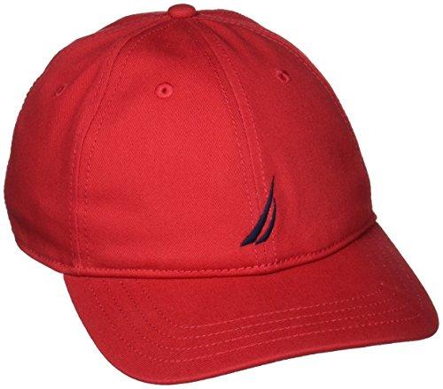 Deck Nautica para Hombre Rojo béisbol Gorra de Red xzTrw1zYqn