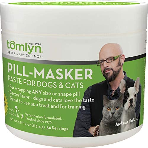 TOMLYN Pill-Masker Paste for Dogs Cats, 4 Ounce, 12 Pack