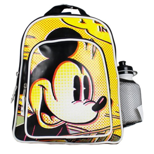 Classic Yellow and Black Mickey Mouse Backpack