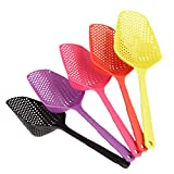 Cooking Tools For Deep Frying Large Scoop Colander Nylon Spoon...