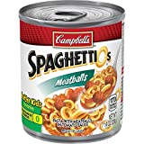 Cheap Campbell's SpaghettiOs Canned Pasta with Meatballs, 7.25 oz. Can