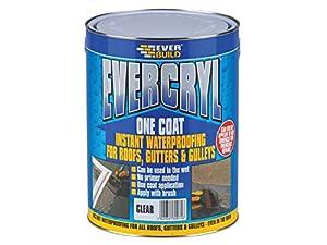 Everbuild Evcc5l 5 Kg Evercryl One Coat Roof Repair