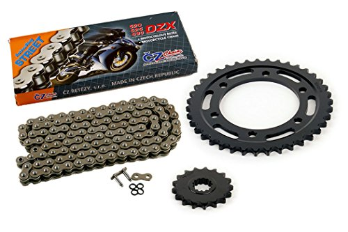2004 2005 Yamaha YZF-R1 YZF R1 CZ DZX X-Ring Chain and Sprocket 17/39 120L ()
