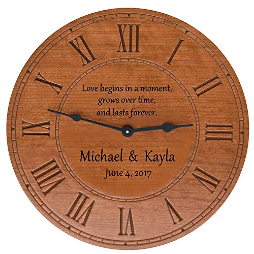 personalized wall clock - 4