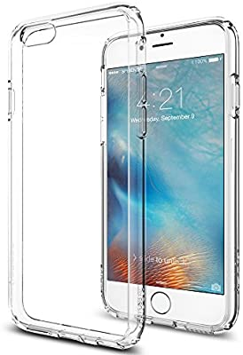0b3a053a7 Spigen Ultra Hybrid Designed for Apple iPhone 6s Case/Designed for iPhone 6  (2014)- Cystal Clear