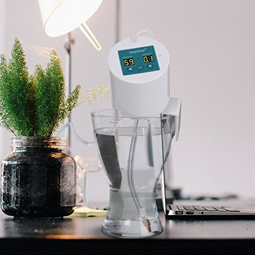 plant self watering system automatic waterer drip irrigation import it all. Black Bedroom Furniture Sets. Home Design Ideas