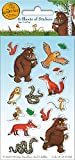 Paper Projects 01.70.15.041 Gruffalo Stickers - Party Pack of 6 Sheets