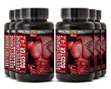 Tribulus testosterone booster - TESTOSTERONE BOOSTER 742MG - lean muscle mass (6 Bottles)
