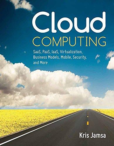 Cloud Computing  Saas  Paas  Iaas  Virtualization  Business Models  Mobile  Security And More