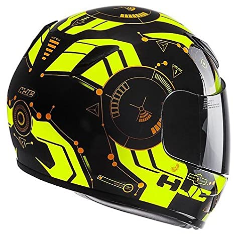 Casco Moto integral infantil HJC Cl-Y simitic mc4h MEDIUM