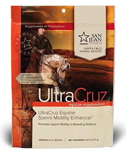 UltraCruz Hippique de la Motilité des Spermatozoïdes Enhancer, 0,5 livres