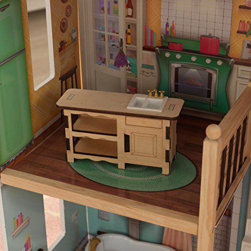 51br5ds2yuL - KidKraft So Chic Dollhouse with Furniture