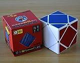 Qiyun New Shengshou Skewb Puzzle Cube White Angle Puzzle Cube