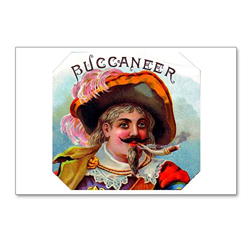 CafePress - Buccaneer Cigar Label - Postcards (Package of 8), 6