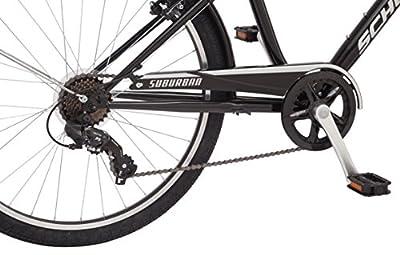 "Schwinn Suburban Men's Comfort Bike 26"" Wheels, 18"" Medium Frame Size, Black"