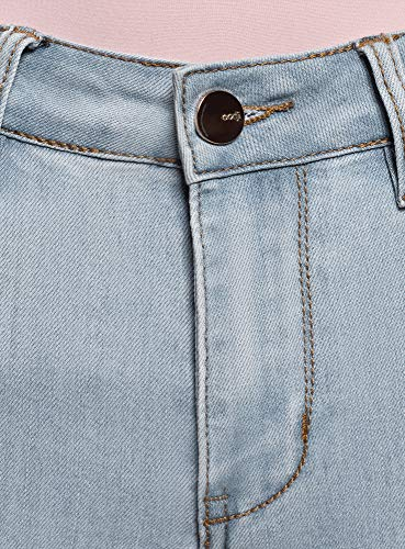De Mujer Alta Skinny 7000w Cintura Vaqueros Ultra Oodji Azul A6gqO5Iq1