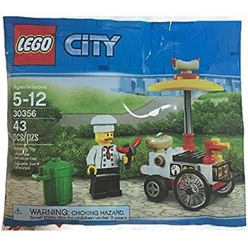 LEGO BALLOON CART AND HOT DOG CART  40108 /& 30356