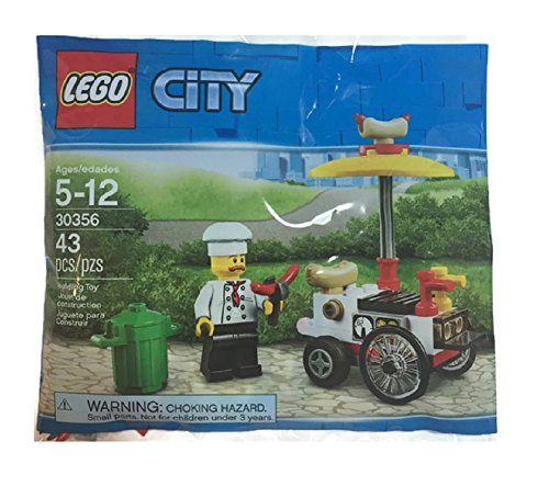 LEGO City 30356 Hot Dog Cart and Vendor (43 pc bagged (Hot Dog Vendors)