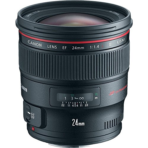 7. Canon EF 24mm f/1.4L II USM Lens