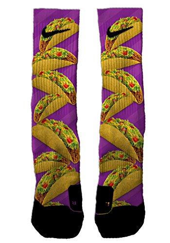 SETHSSOCKS Taco Custom Elite Crew Socks Medium