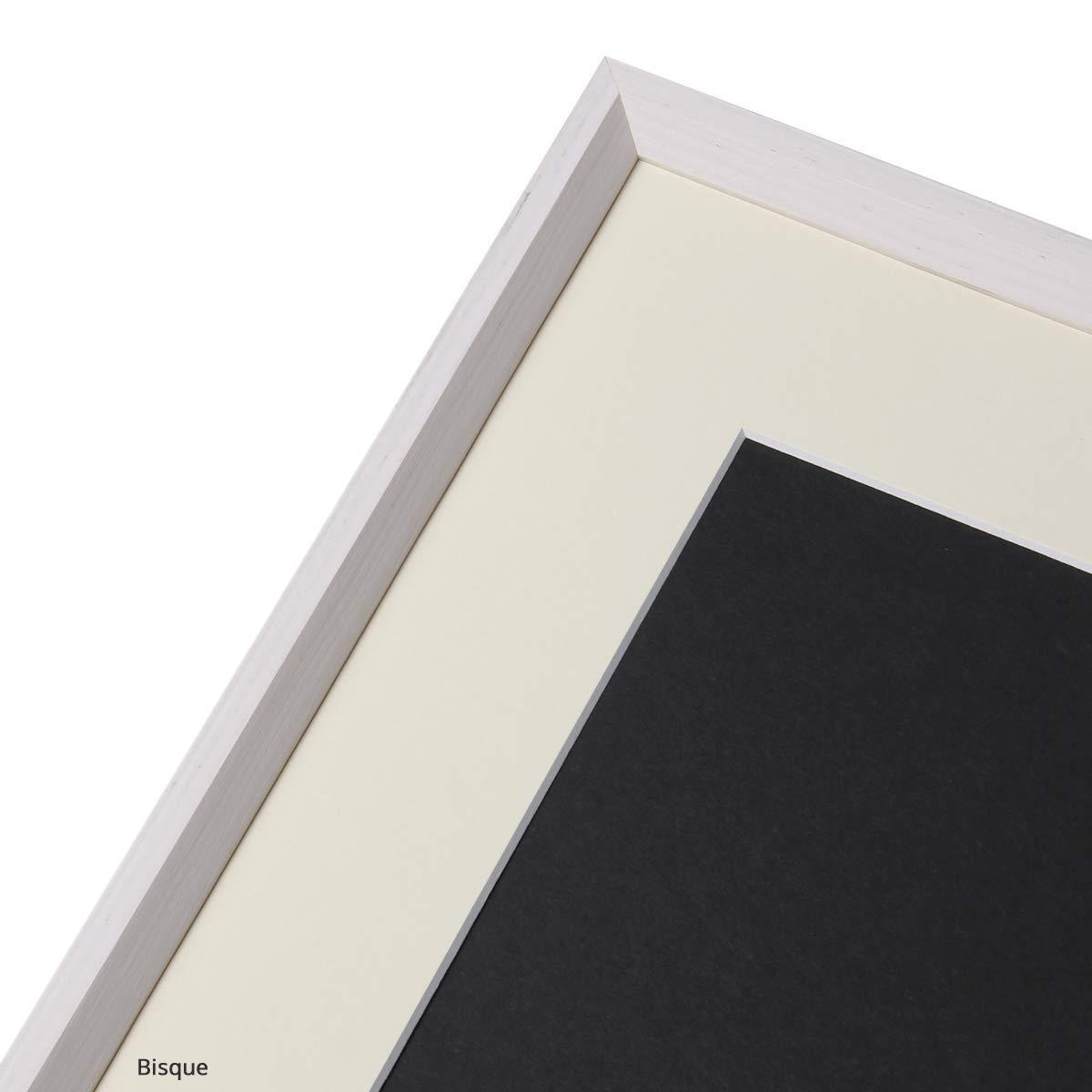 ASP-Galeriebedarf Fertig-Passepartout 30 x 40 cm f/ür Bildformat 20 x 30 cm Farbe: Bisque 1,4 mm