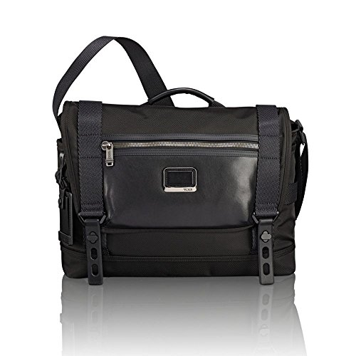 TUMI - Alpha Bravo Fallon Messenger Bag - Shoulder Crossbody Bag for Men and Women - Black