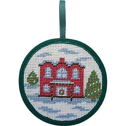Alice Peterson Stitch-Ups Needlepoint Ornament Kit Pineapple