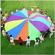 Play Parachute Kids Parachute Games, Outdoor Garden Parent-Child Interactive Games, Children's Sensory Int