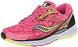 Saucony Women's Breakthru Running Shoe,Pink/Citron,12 M US