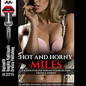 Hot and Horny MILFs Audiobook