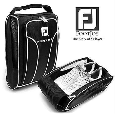 Golf Shoe Bag >> Genuine Footjoy Golf Shoes Bag Zipped Sports Bag Shoe Case Black Color