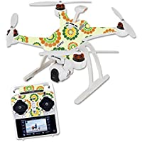 MightySkins Skin For Blade Chroma Quadcopter – Hippie Flowers Protective, Durable, and Unique Vinyl Decal wrap cover | Easy To Apply, Remove, and Change Styles | Made in the USA