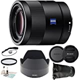 Sony 55mm F1.8 Sonnar T* FE ZA Full Frame Prime Lens + Free Extras Bundle