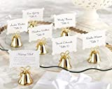 Gold Kissing Bells Place Card/Photo Holder (Set of 24) - 8 Sets in Total