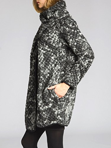 Fashion Fashion Dark Cappotto CASPAR Grey Donna HOvnWqBz