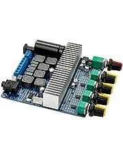 DC12V-24V 2.1 Channel TPA3116 Subwoofer Amplifier Board High Power Bluetooth Audio Amplifier Board 2x50W+100W(2x50W+100W)